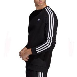 adidas Originals 3-Stripes Crewneck Sweatshirt XXL